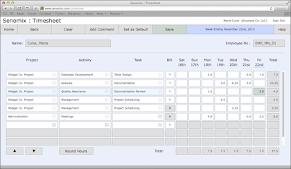 easy time tracking software