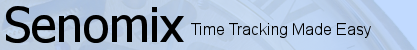 Senomix Timesheet Software for Office Time Tracking